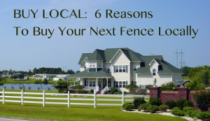 buy local fence from contractor