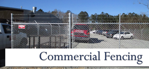 commercial fencing gate