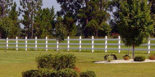 installing vinyl fence