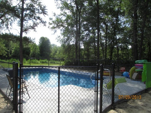durable fence for pool