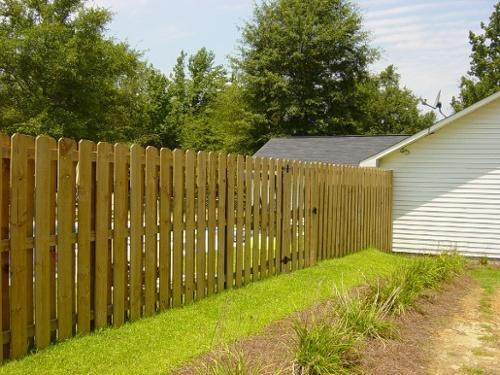 wood fence tips