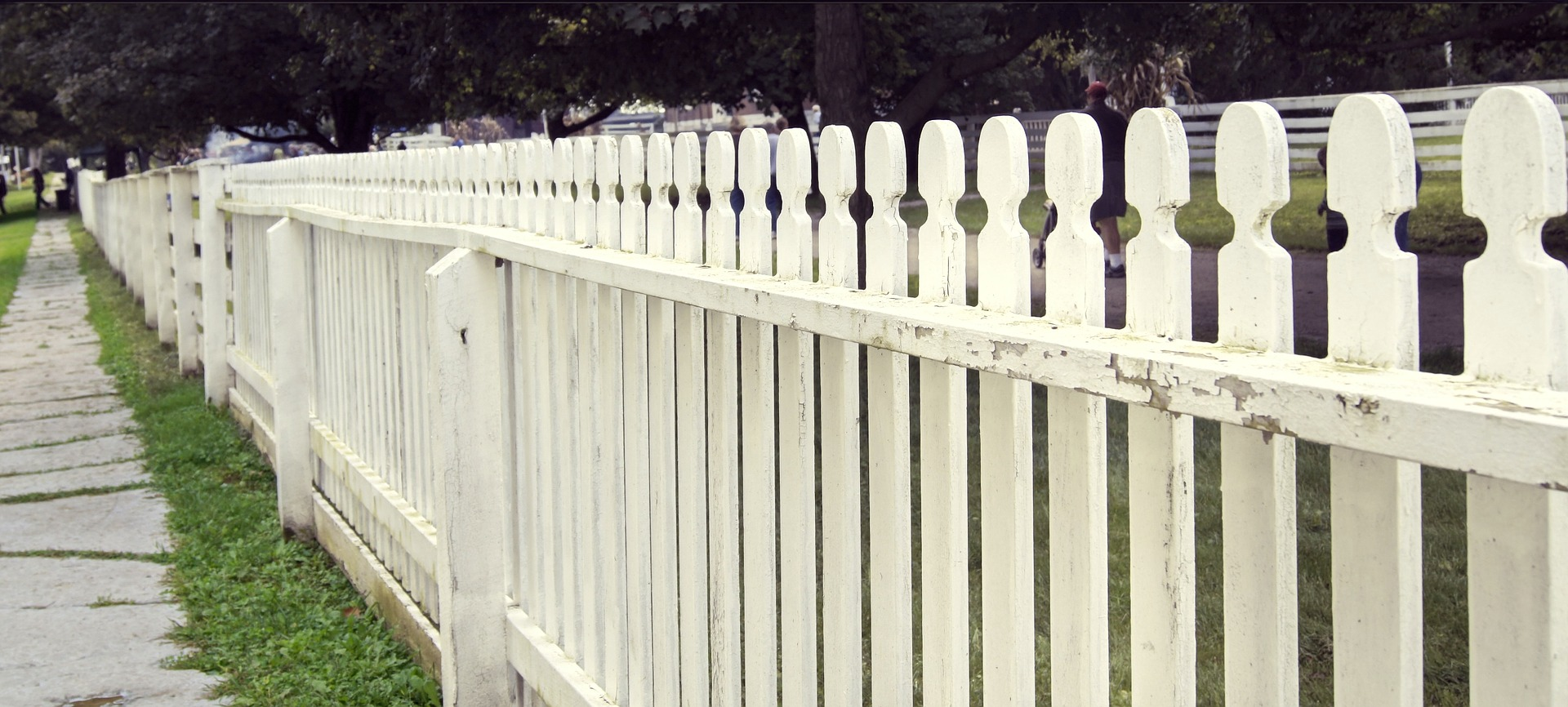 fence height white vinyl picket