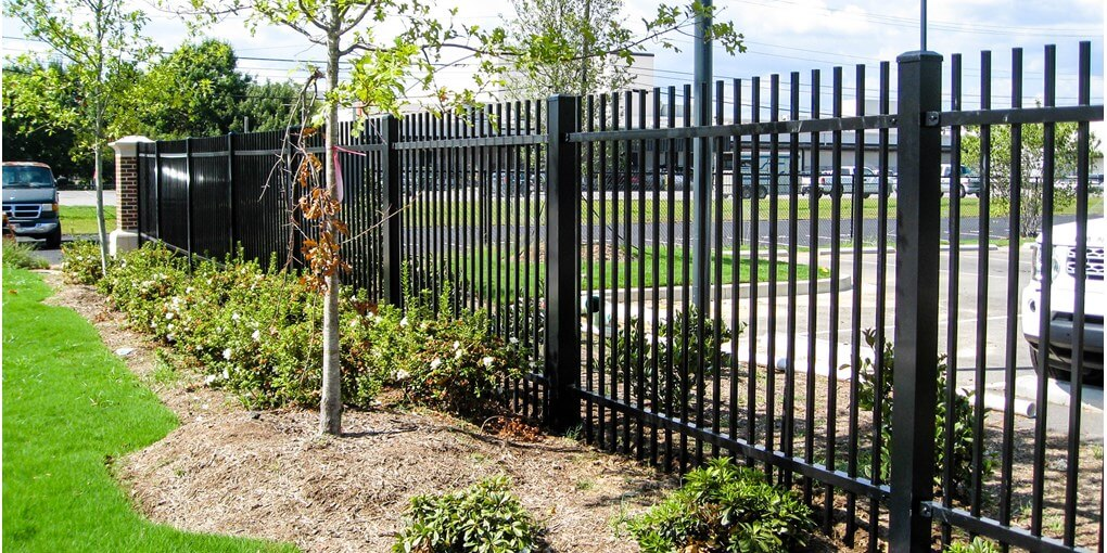ornamental fence commercial