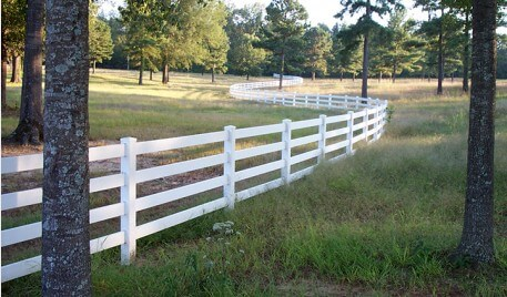 long affordable fence