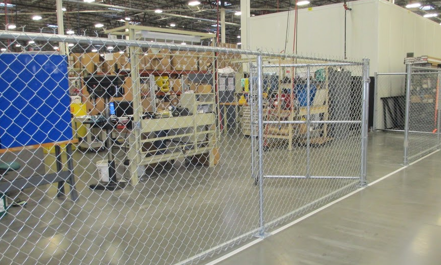 Indoor Commercial Fence