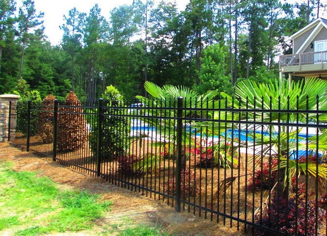 Ornamental Modern Fence