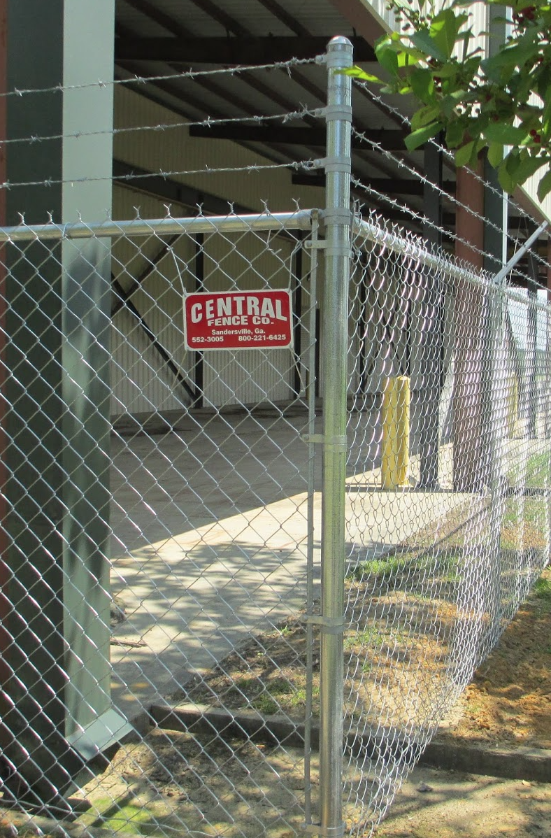 Commercial Chain-Link Fence
